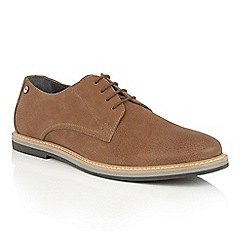 Frank Wright - Brown Leather 'Woking II' mens lace up shoes