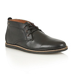 Frank Wright - Black 'Gee' chukka boots