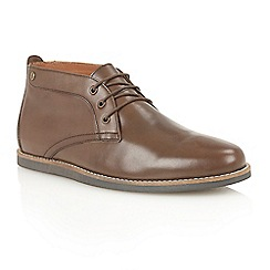 Frank Wright - Brown 'Gee' chukka boots
