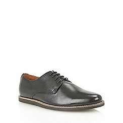 Frank Wright - Black 'Trinder' lace-up shoes