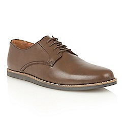 Frank Wright - Brown 'Trinder' lace-up shoes