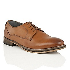 Frank Wright - Tan leather 'Merton' formal lace up shoes