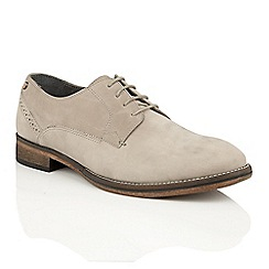 Frank Wright - Ivory leather 'Merton' formal lace-up shoes