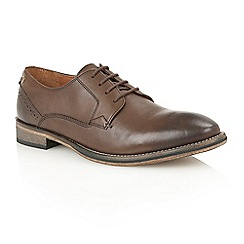 Frank Wright - Brown leather 'Merton' formal lace-up shoes