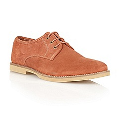 Frank Wright - Rust 'Thurrock' lace up shoes