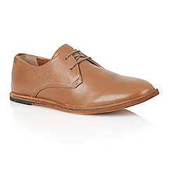 Frank Wright - Rust Leather 'Busby' mens derby shoes