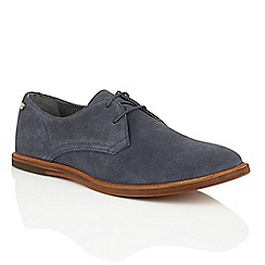 Frank Wright - Marino Suede 'Busby' mens lace up derby shoes