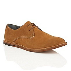 Frank Wright - Russett Suede 'Busby' mens lace up derby shoes