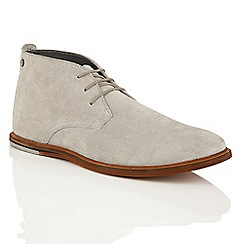 Frank Wright - Grey Suede 'Strachan' chukka boots