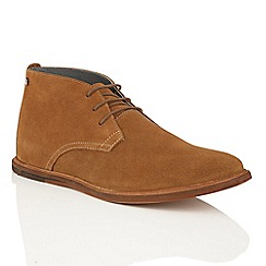 Frank Wright - Russet Suede 'Strachan' chukka boots