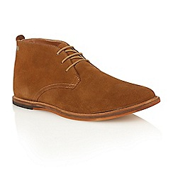 Frank Wright - Bison suede 'Strachan' chukka boots