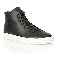 Frank Wright - Black/white 'Logan' high-top sneakers