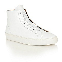 Frank Wright - White 'Logan' high-top sneakers