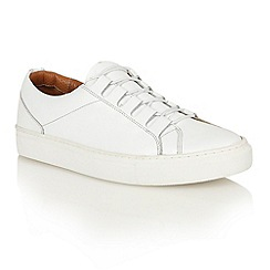 Frank Wright - White 'Mitch' lace-up sneakers