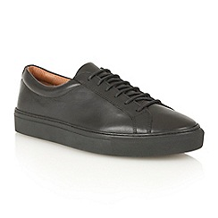 Frank Wright - Black 'Eddie' lace-up sneakers