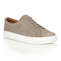 Frank Wright - Grey/white 'Eddie' lace-up sneakers