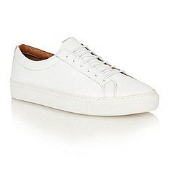 Frank Wright - White 'Eddie' lace-up sneakers