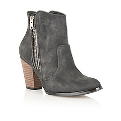 Dolcis - Black metallic 'Hamburg' ankle boots