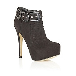 Dolcis - Black imi suede 'Istanbul' stiletto boots