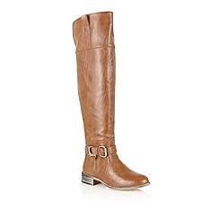 Dolcis - Tan 'Novisad' knee high boots