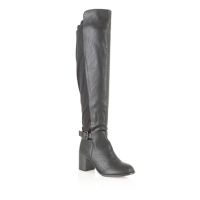Dolcis Black ´Novisad´ knee high boots - . -