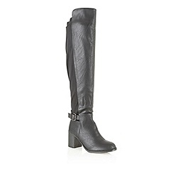 Dolcis - Black 'Novisad' knee high boots