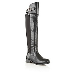 Dolcis - Black 'Oslo' knee high boots