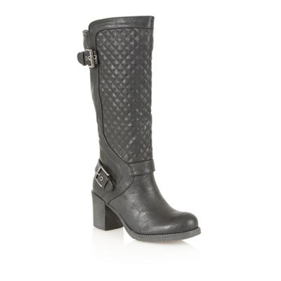 Dolcis Black ´Perpignan´ knee high boots - . -