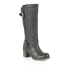 Dolcis - Black 'Perpignan' knee high boots