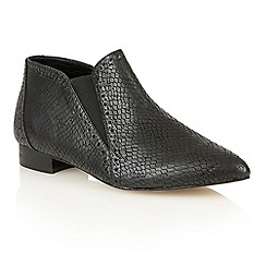Dolcis - Black 'Yvonne' heeled ankle boots