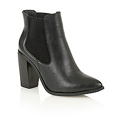 Dolcis - Black 'Lana' heeled ankle boots