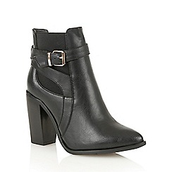 Dolcis - Black 'Lelia' heeled ankle boots