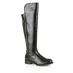 Dolcis - Black 'Velma' knee high boots