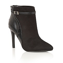 Dolcis - Black 'Yazmin' ankle boots