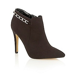 Dolcis - Black 'Rachael' high heeled ankle boots