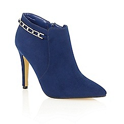 Dolcis - Blue 'Rachael' high heeled ankle boots