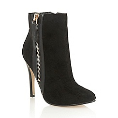 Dolcis - Black 'Sally' high heeled ankle boots