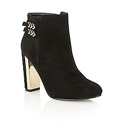 Dolcis - Black 'Helina' heeled ankle boots