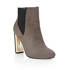 Dolcis - Grey 'Hayley' heeled ankle boots