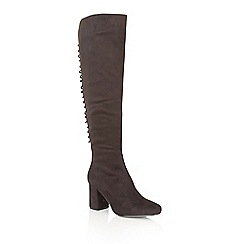 Dolcis - Black 'Kassie' knee high boots