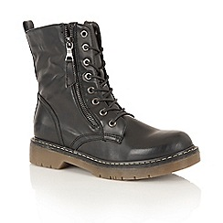 Dolcis - Black 'Jasper' street boots