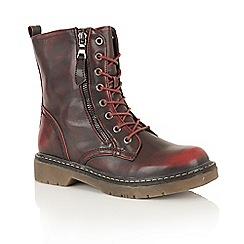 Dolcis - Ox Blood 'Jasper' street boots