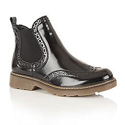 Dolcis - Black Box 'Jayde' street boots