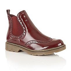 Dolcis - Burgundy Box 'Jayde' street boots