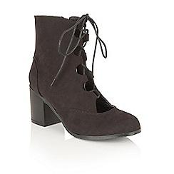 Dolcis - Black 'Gwyneth' ankle boots