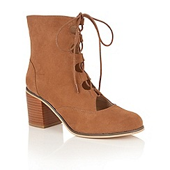 Dolcis - Tan 'Gwyneth' ankle boots