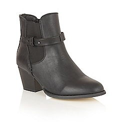 Dolcis - Black 'Jemma' ankle boots