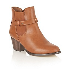 Dolcis - Tan 'Jemma' ankle boots