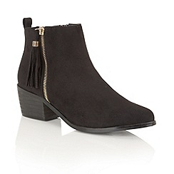 Dolcis - Black 'Jamila' ankle boots