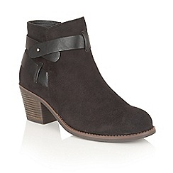 Dolcis - Black 'Nellie' ankle boots